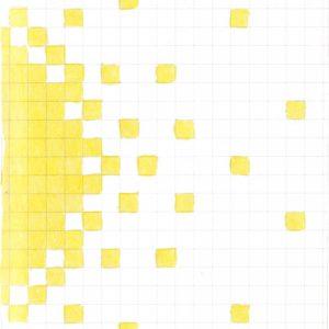 Tekening Kleurpotlood Patroon Vierkantjes Zon